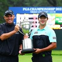 二人ともおめでとうございます 2021年 日本プロゴルフ選手権大会 最終日 キム・ソンヒョン