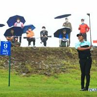 土手からタダで観れる。 2021年 日本プロゴルフ選手権大会 最終日 キム・ソンヒョン