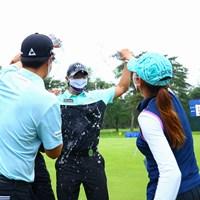 ヨン様からの祝福 2021年 日本プロゴルフ選手権大会 最終日 キム・ソンヒョン