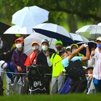 hole9 par5 513yards lob shot 2021年 日本プロゴルフ選手権大会 最終日 キム・ソンヒョン