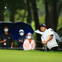 hole8 psr3 210yards approach shot 2021年 日本プロゴルフ選手権大会 最終日 片山晋呉