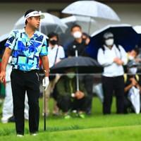 池田勇太は最終日に逆転負け。最終日は「71」と伸ばせなかった 2021年 日本プロゴルフ選手権大会  最終日 池田勇太
