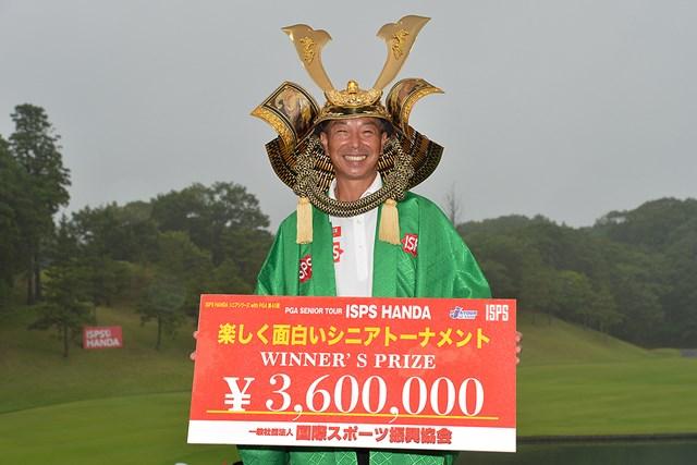 2021年 ISPS HANDA 楽しく面白いシニアトーナメント 2日目 井戸木鴻樹 井戸木鴻樹が9年ぶりの国内シニアツアー優勝(提供:日本プロゴルフ協会)