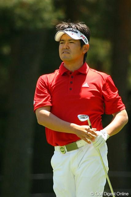 2010年 ダイヤモンドカップゴルフ 2日目 武藤俊憲 魔法は消えた?スコアを2つ落とした武藤俊憲は6アンダー2位タイで踏ん張る