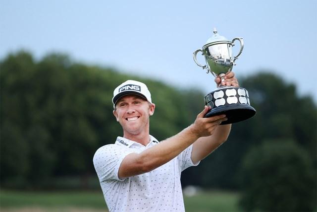 2021年 バーバゾル選手権  最終日 シーマス・パワー 34歳のシーマス・パワーが初優勝を飾った(Andy Lyons/Getty Images)