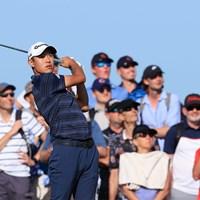 全英を制したコリン・モリカワ。縁のある日本の五輪でも活躍が期待される※写真は「全英オープン」(David Cannon/R&A/R&A via Getty Images) 2021年 全英オープン  3日目 コリン・モリカワ