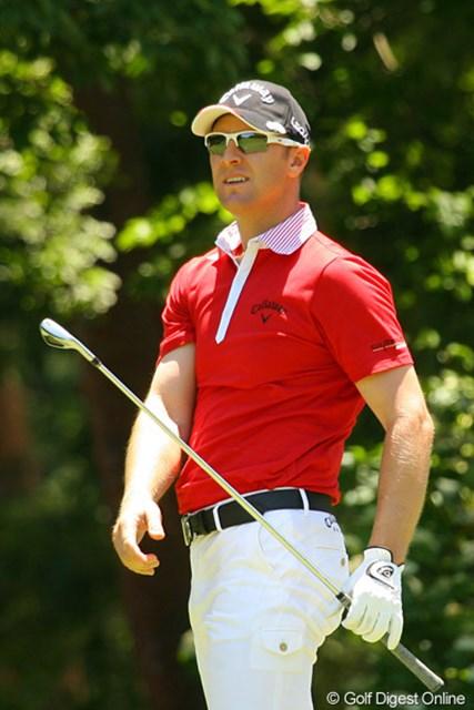 2010年 ダイヤモンドカップゴルフ 2日目 ブレンダン・ジョーンズ 2日間2アンダーずつスコアを伸ばすブレンダン・ジョーンズ。決勝では一気にスコアを伸ばすか!?