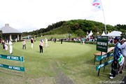 2010年 ヨネックスレディスゴルフトーナメント 2日目 練習グリーン