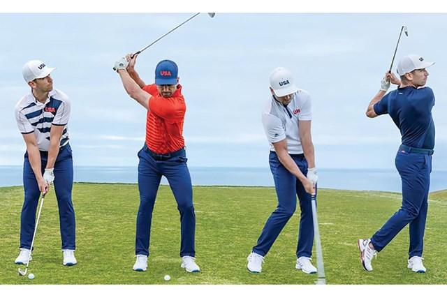 2021年 東京五輪 事前 東京五輪 米国男子代表のユニフォーム(提供:GolfWRX、PGATOUR.com)