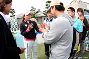2010年 ヨネックスレディスゴルフトーナメント 2日目 有村智恵