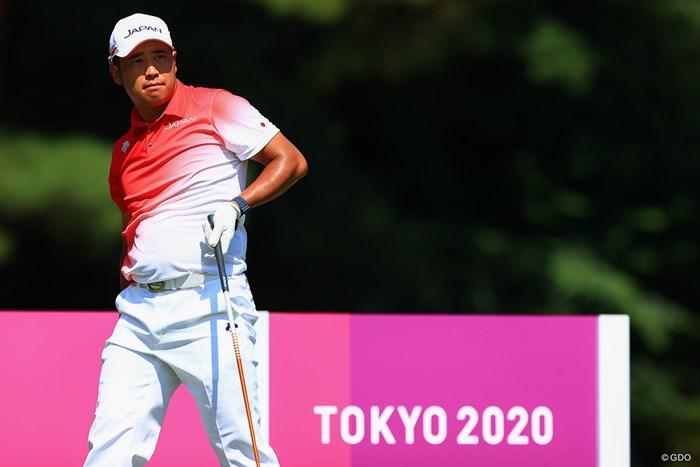Hole8  par5 586yards tee shot 2021年 東京五輪 事前 松山英樹