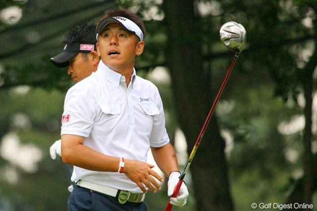 2010年 ダイヤモンドカップゴルフ 3日目 宮瀬博文 6バーディ、ノーボギーで6アンダー9位タイに急浮上した宮瀬博文