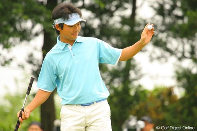 2010年 ダイヤモンドカップゴルフ 3日目 市原弘大 初顔合わせの石川遼とのラウンドだった市原弘大。これが誕生日プレゼントになるのか