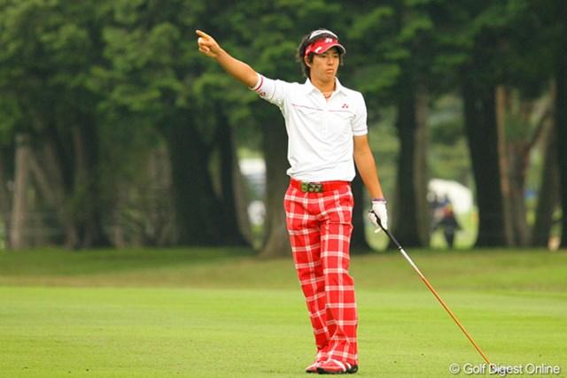 2010年 ダイヤモンドカップゴルフ 最終日 石川遼 ティショットだけでなく全体的に右へのミスショットが目立った石川遼