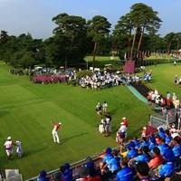 星野陸也のティショットが五輪男子ゴルフの開幕を告げた 2021年 東京五輪 初日 星野陸也