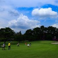 Hole16 par3 203yards  2021年 東京五輪 初日 松山英樹
