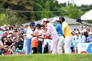 2010年 ヨネックスレディスゴルフトーナメント 最終日 花束贈呈