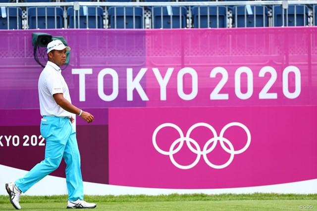 2021年 東京五輪 2日目 松山英樹 メダルへ向けて松山英樹の2日目が始まった