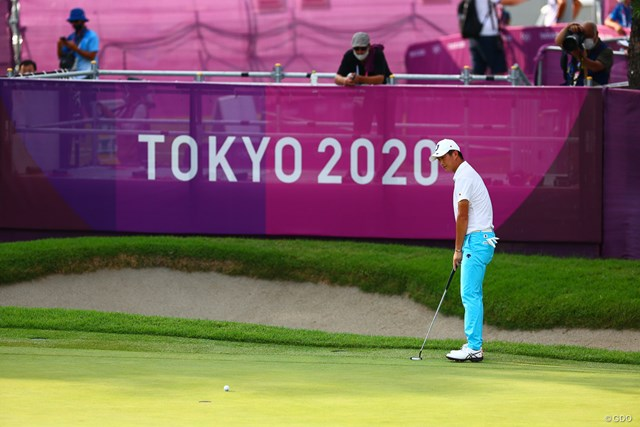 2021年 東京五輪 2日目 星野陸也 最後はボギーでしたが…