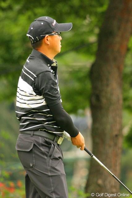 2010年 ダイヤモンドカップゴルフ 最終日 谷口徹 前をプレーする石川組のギャラリーが目障りだからって、怒鳴らなくてもいいじゃないですか