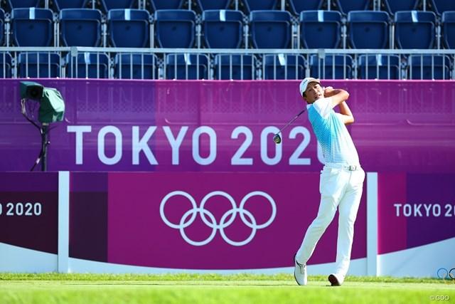 2021年 東京五輪 4日目 星野陸也 星野陸也が最終日の18ホールをスタートした