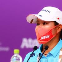 記者会見 2021年 東京五輪 事前 畑岡奈紗