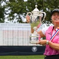 圧勝したアニカ・ソレンスタム(Rich Schultz/Getty Images) 2021年 全米シニア女子オープン 最終日 アニカ・ソレンスタム