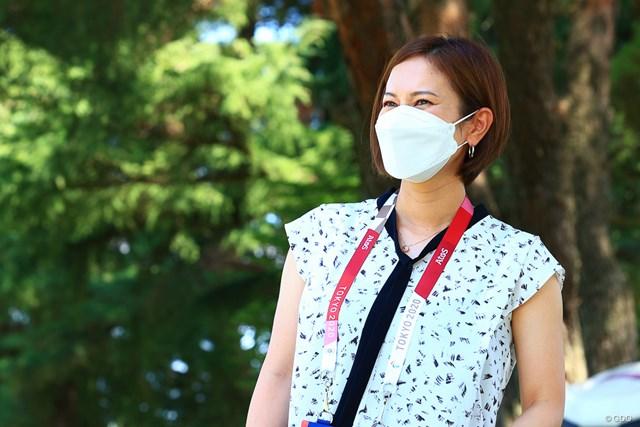 2021年 東京五輪 3日目 宮里藍 宮里藍さんも稲見の快挙を祝福した(写真は大会3日目)