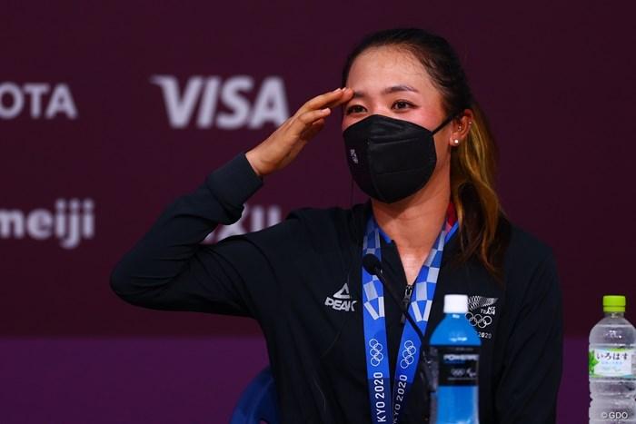 銅メダルのリディア・コー 2021年 東京五輪 4日目 リディア・コー