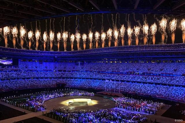 2021年 東京五輪 閉会式が行われた東京五輪。各国の選手が参加した