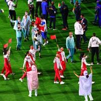 中国代表選手団 2021年 東京五輪 最終日 2021年 東京五輪 閉会式