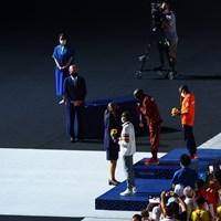 男子マラソンの表彰 2021年 東京五輪 最終日 2021年 東京五輪 閉会式