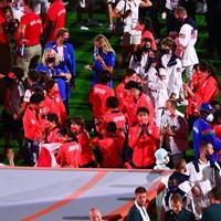卓球女子日本代表 2021年 東京五輪 最終日 2021年 東京五輪 閉会式