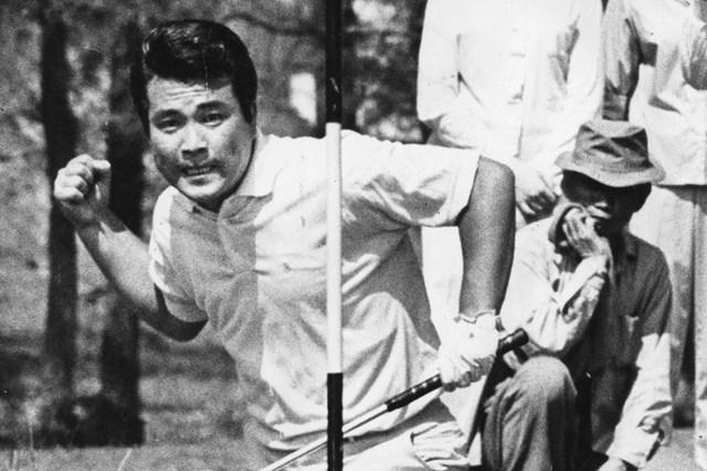 2021年 後世に残したいゴルフ記録 安田春雄 プレーオフで驚異的な強さを見せた安田春雄(South China Morning Post/Getty Images)