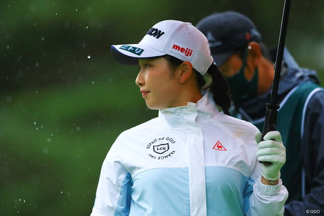 2021年 NEC軽井沢72ゴルフトーナメント 初日 小祝さくら 小祝さくらが6連続を含む8バーディ「64」で発進