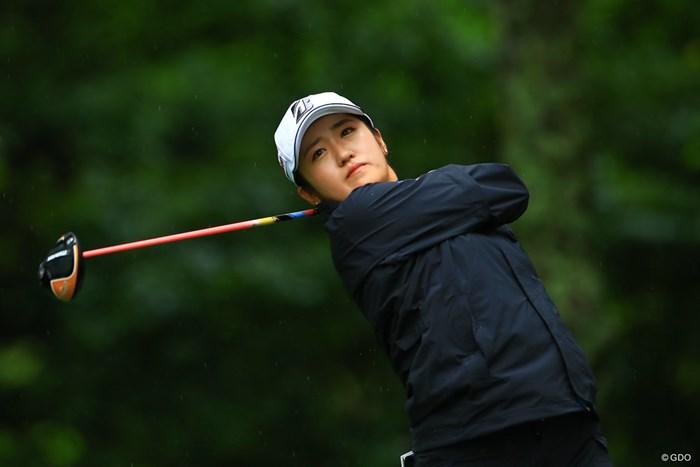 五輪とのギャップにも対応しながらの初日となった 2021年 NEC軽井沢72ゴルフトーナメント 初日 稲見萌寧