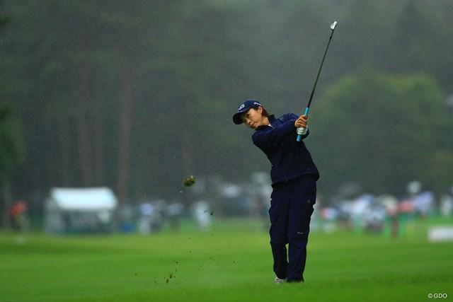 2021年 NEC軽井沢72ゴルフトーナメント 初日 一ノ瀬優希 おかえりなさい!