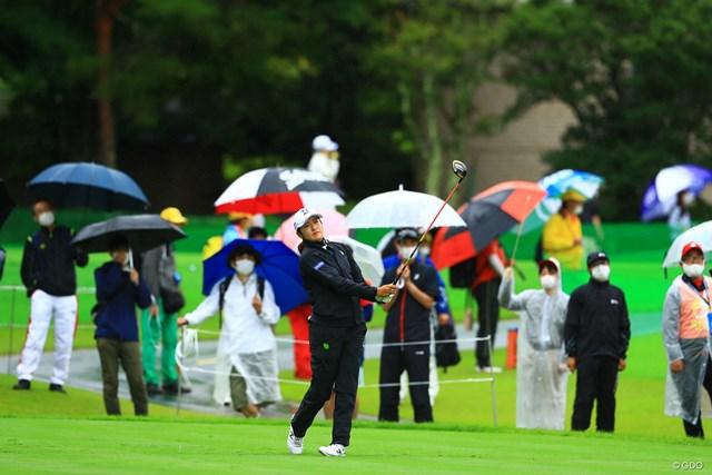 2021年 NEC軽井沢72ゴルフトーナメント 初日 稲見萌寧 本日のギャラリー724名
