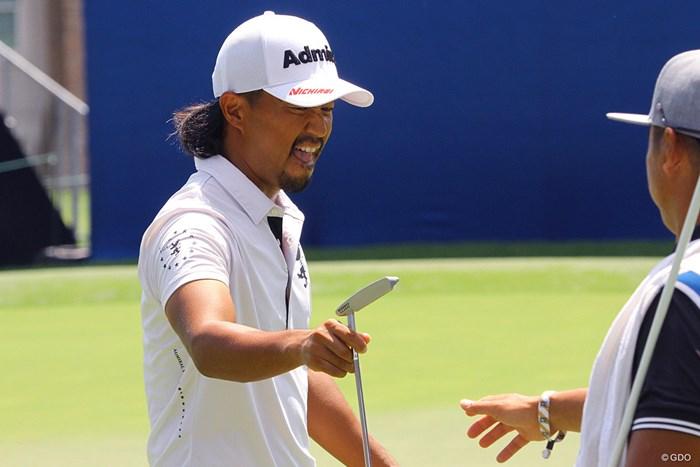 小平智はオーバーパーでレギュラーシーズン最後のラウンドを終えた 2021年 ウィンダム選手権 2日目 小平智