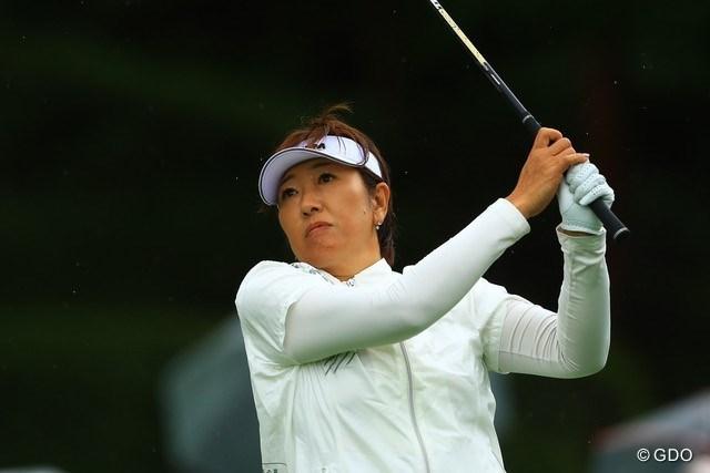 2021年 NEC軽井沢72ゴルフトーナメント 初日 福嶋晃子 福嶋晃子はゴルフに加えてテニスでも…