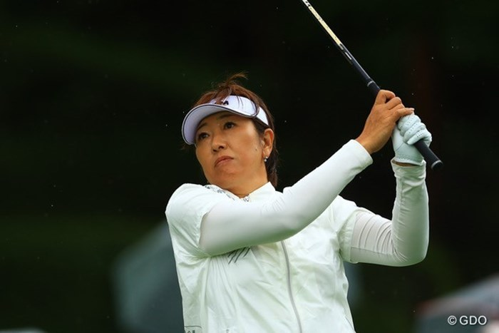 福嶋晃子はゴルフに加えてテニスでも… 2021年 NEC軽井沢72ゴルフトーナメント 2日目 福嶋晃子