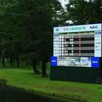 最終ラウンドは9ホールの決戦に 2021年 NEC軽井沢72ゴルフトーナメント 3日目 リーダーボード
