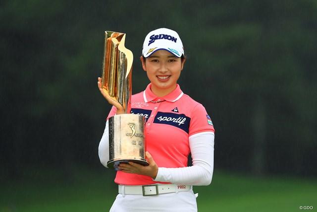 2021年 NEC軽井沢72ゴルフトーナメント 最終日 小祝さくら 小祝さくらがシーズン4勝目をあげた