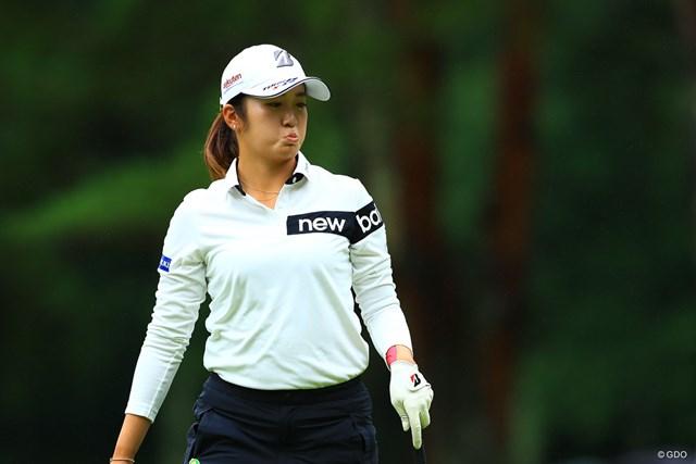 2021年 NEC軽井沢72ゴルフトーナメント 最終日 稲見萌寧 最近表情豊かですごく可愛い