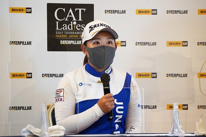 浅井咲希は防衛戦に臨む 2021年 CAT Ladies 事前 浅井咲希