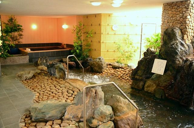 紫塚ゴルフ倶楽部(栃木県) 温泉施設も利用できる(画像提供:紫塚ゴルフ倶楽部)