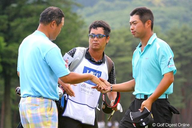 池田勇太/「日本ツアー選手権シティ杯宍戸」2日目 通算9オーバーの池田勇太。辛くも予選を突破したが、やはり表情は冴えない