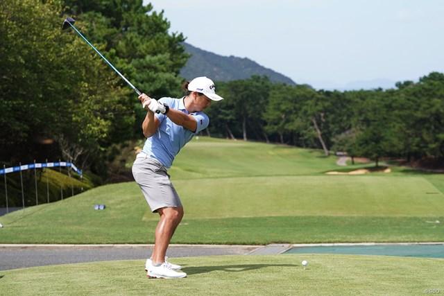 2021年 Sansan KBCオーガスタゴルフトーナメント 事前 石川遼 短パンでプロアマに出場した石川遼