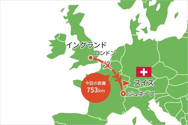 2021年 オメガ ヨーロピアンマスターズ 事前 川村昌弘マップ イギリスからスイスへ
