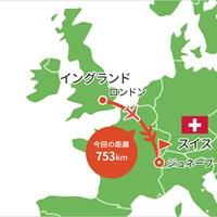 イギリスからスイスへ 2021年 オメガ ヨーロピアンマスターズ 事前 川村昌弘マップ